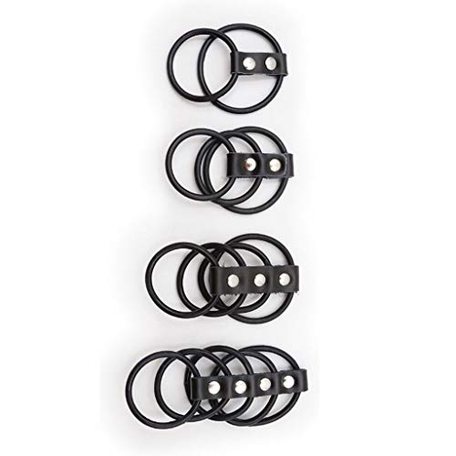 HZS Flexible Gummi-Ring-Pēnīs-Ringe Schellen Còckri-ng...